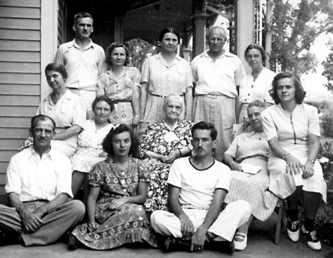 Williams and House families, 1939