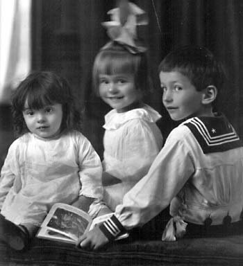 Williams children, circa 1920