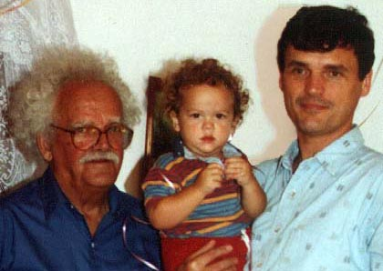 3 generations of Butlers, 1993