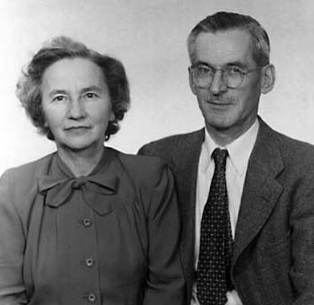 Gladys and Edward, circa 1950